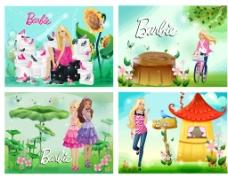 芭比女孩图片