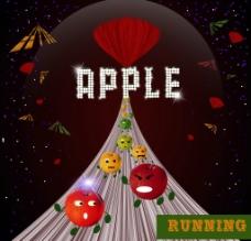 apple赛跑图片