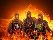 西洋武装骑士图片