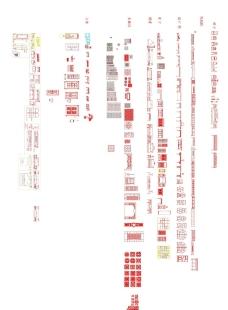 中式家具图块图片