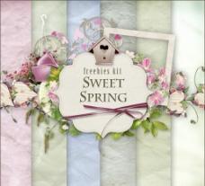 甜蜜的春天图片