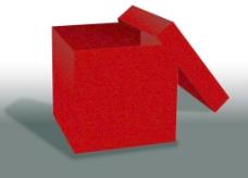 红色包装盒图片