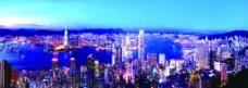 香港全景图片