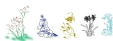 花朵 荷花 玫瑰 桃花 百合图片