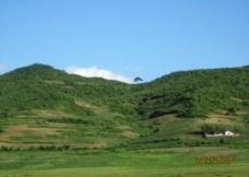 乡村青山图片