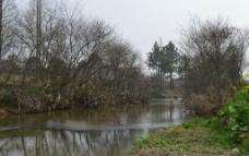 乡村风光 流水潺潺图片