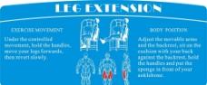 健身器材 肌肉图 线条图图片