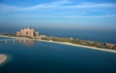 迪拜亚特兰蒂斯酒店鸟瞰图片