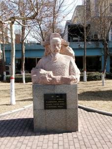 海瑞雕像图片