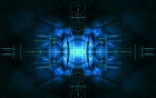 蓝色裂纹图片