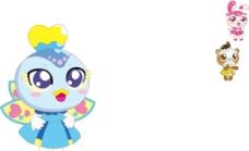 幻变精灵之蓝雀安琪图片