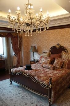 豪宅卧室图片