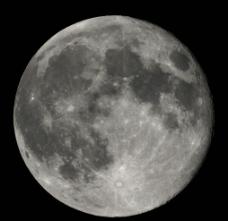 滿月大自然美景圖片