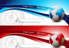 网页banner矢量设计模板素图片