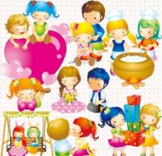 可愛兒童圖片