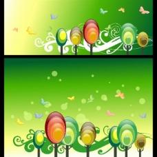 春天风景 绿色 春天背景图片