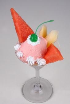 冰淇淋单球图片
