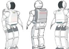 Asimo机器人图片