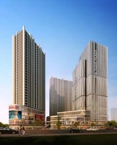 得邦商业大厦建筑效果图图片