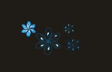 四朵青花图片