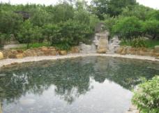 广东清远河中温泉图片