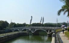 水上桥 河上桥图片