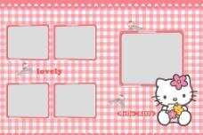 hello kitty相册页面图片
