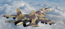 苏霍伊战斗机图片