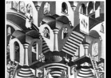 素描建筑景观图片