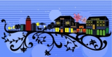 建筑图案花纹图片