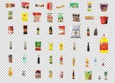 48个商品抠图 旺仔牛奶 康师傅方便面图片