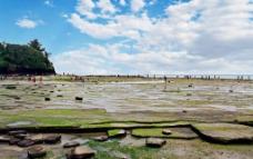 广西北海涠洲岛五彩滩风景图片