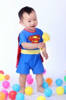 可爱小男孩图片