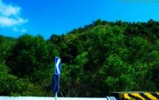 龙岗南澳一路风景 南澳山水图片