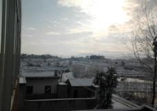 麻城胡家湾风景雪后图片