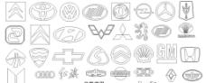30多款汽车标志图片