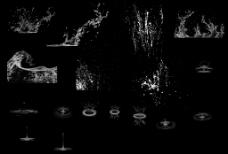 水滴水珠笔刷集合图片