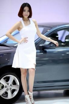 车模美女 气质美女图片