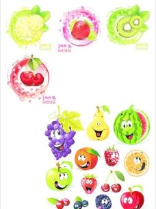 矢量图水果大全图片