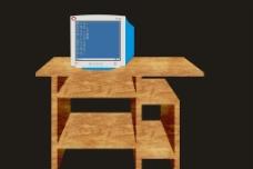 桌子 电脑图片