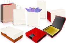 手提袋包装盒效果图图片