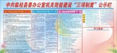 县委办三项制度图片