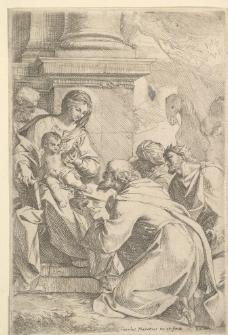 铜版画图片