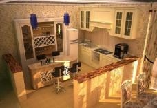 厨房效果图图片