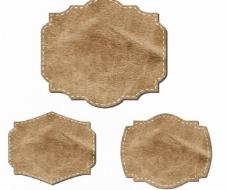 皮革标签图片