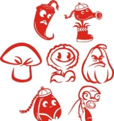 植物大戰僵尸 卡通植圖片