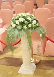 欧式花柱图片