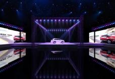 现代车展舞台图片