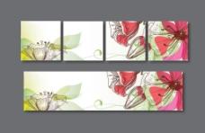 背景墻 花卉 裝飾圖片