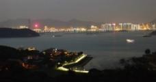 鼓浪屿夜景图片